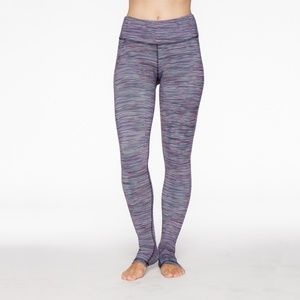 Barre Yoga Legging Kori (Multi Striped)
